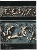 THE OLYMPIANS: High relief bronze frieze