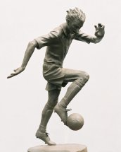 THE BEAUTIFUL GAME: Clay maquette