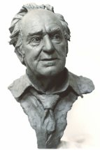 PERCY WEBB: Life size portrait sculpture