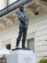 SIR KEITH PARK: 9ft bronze statue - Waterloo Place London