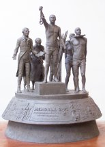MEMORIAL 2007: Maquette for end of slavery memorial to be erected in Hyde Park London